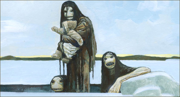 Legends Of Water Of Inuit People 97